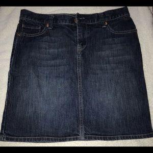 New York & co Jean skirt